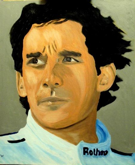 Ayrton Senna par dutch036